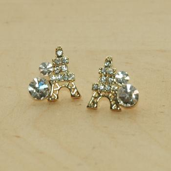 Paris Eiffel Tower Dazzling Earrings